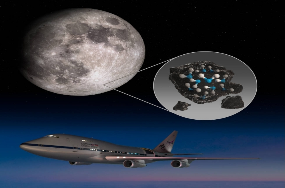 NASA confirms water in the surface of the Moon!