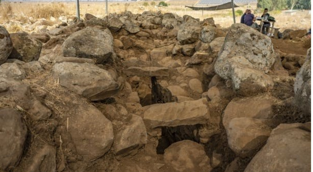 3000 YEAR OLD FORTRESS LINKED TO KING DAVID ERA FOUND IN THE GOLAN HEIGHTS