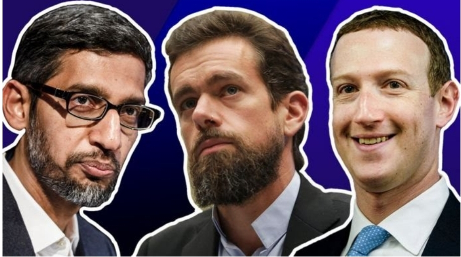 Tech giants Facebook, Twitter and Google face questions from US Senators