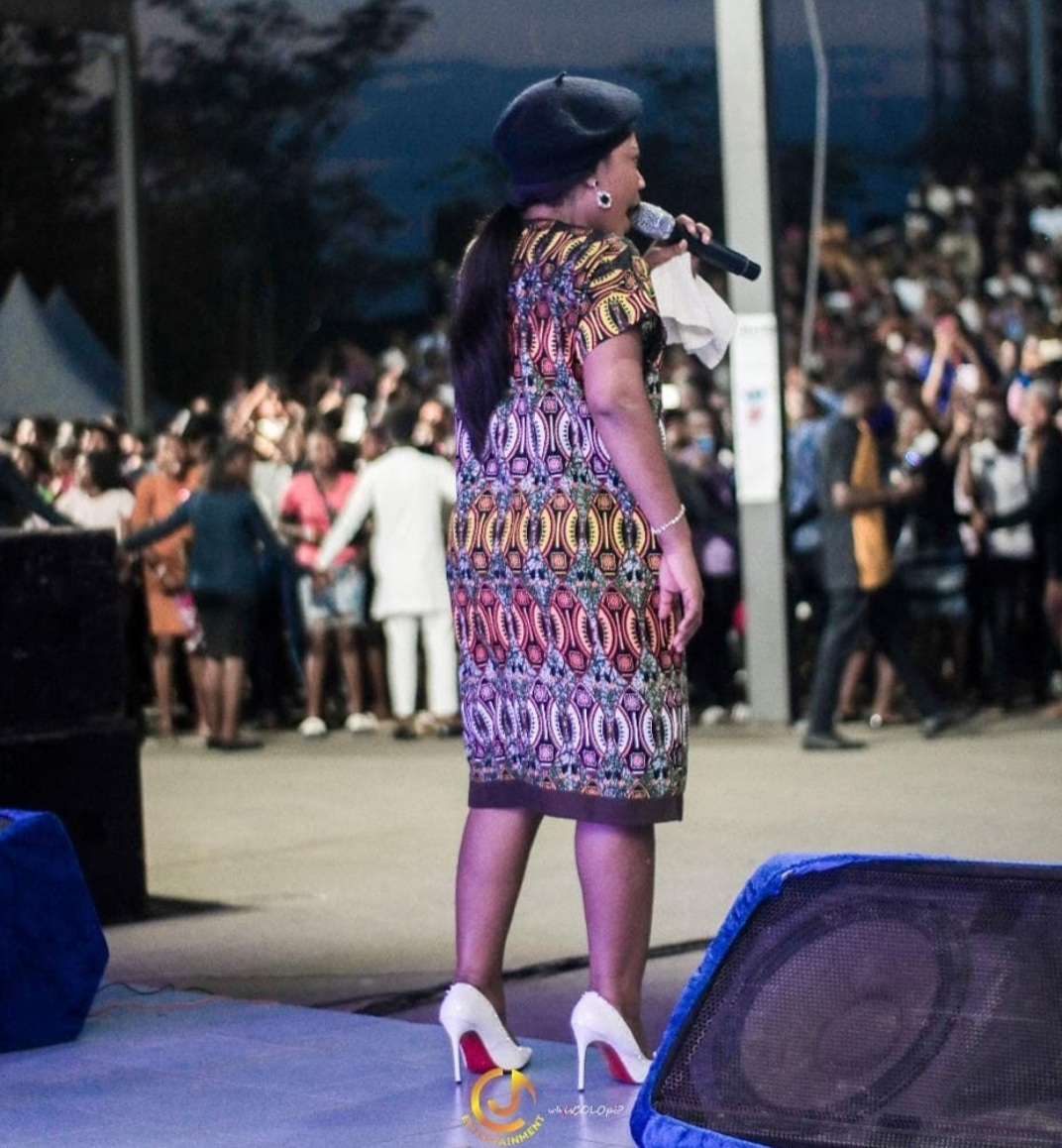 CHIOMA JESUS IN ONGOING CAMPUS TOUR WITH MERCY CHINWO, NATHANIEL BASSEY AND OTHER GOSPEL ARTISTS